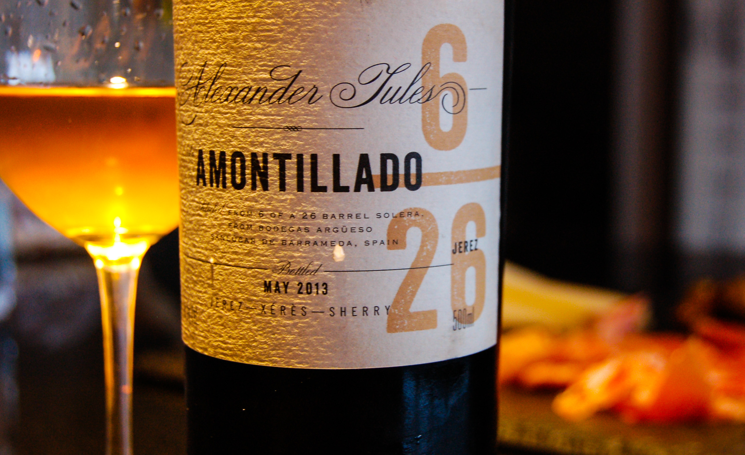 Amontillado Sherry | The Amazing Pair – Wine and Chocolate Pairings Imaginable